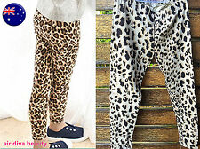 Kids Girls Children Toddlers Fashion Cotton Funky Leopard Print Pants leggings