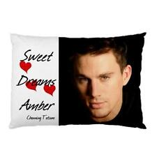 Personalised Channing Tatum Pillow Case 2 Different Designs 'You Choose Name'