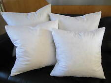 FEATHER / DOWN Square Euro Pillow Insert Form - ALL SIZES!! Made in USA Cushion