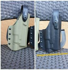 Deep Concealment Custom Kydex Holster for Glock w/lght Level 2 /Blackhawk Paddle