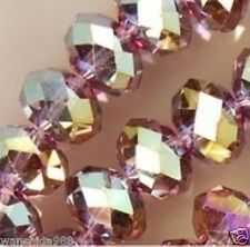 Wholesale Swarovski Crystal Gemstone Loose Beads -Red wine +AB  A25