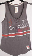 First 18 Official AFL St Kilda Saints Traditional Ladies Singlet