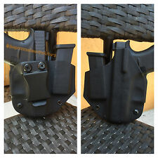 Deep Concealment Custom Kydex Holster for Glock 43 w/mag IWB