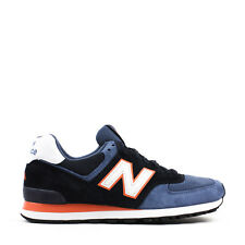 NWB New Balance 574 US574BL Blue Orange Painters Collection Made in the USA