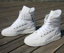 2016 Mens High-top LACE UP Sneaker Shoes MEN'S TRAINERS Skateboard Shoes Boot YE
