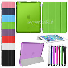 Ultra Slim Magnetic Leather Smart Stand Case Cover For Apple iPad 2 3 iPad 4 Gen