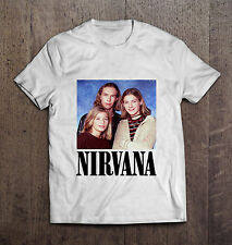 Nirvana Hanson Men T-shirt Nirvana rock men tshirt Rock tshirt