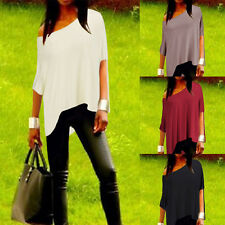 Womens Fashion Summer Vest Top Short Sleeve Blouse Casual Tank Tops T-Shirt New