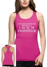 I Don't Always Test My Code - Funny Coder Programmer Racerback Tank Top Geek