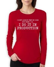 I Don't Always Test My Code - Funny Coder Programmer Women Long Sleeve T-Shirt