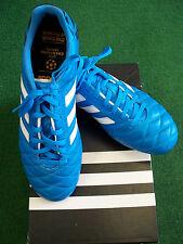ADIDAS 11PRO FG SOCCER CLEATS BLUE SIZES 8.5 & 11 NEW IN BOX OVERTSOCK