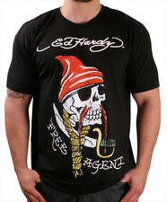 Ed Hardy Pirate Men's Crew Neck T-Shirt