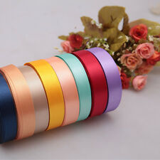 "High Quality Satin Ribbon 25 Yards For Wedding Party Decoration 3/8"" 5/8""  Nice"
