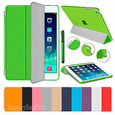 Slim Magnetic Leather Smart Stand Hard Cover Case For Apple iPad Air 2 3 4 Mini