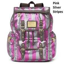 NEW! Juicy Couture Designer Backpack Travel Bag -Many pockets! Laptop/BOOKS! NWT
