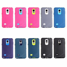New Heavy Duty Defender ShockProof Case Cover Clip For Samsung Galaxy Note4 Hot