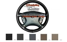 Chevrolet Leather Steering Wheel Cover - 5 Colors Genuine Cowhide Wheelskins