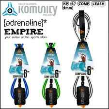 Komunity Project 6 Foot Comp Surfboard Leg Rope Surf Leash Blue, Black or Green