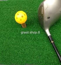 20Pcs Durable Hollow Perforated Plastic Balls Practice Golf Training Balls