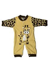 Baby boy infant cater's 1pc long sleeve outfit play sleep suit wear clothes