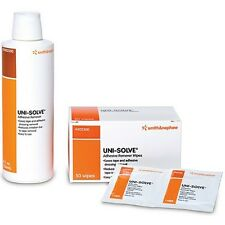 UNI-SOLVE Adhesive Remover by Smith & Nephew, Wipes or Bottle