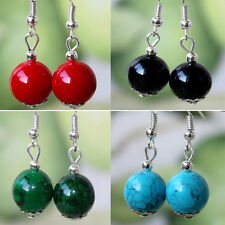 High Quality Fake Turquoise Tibetan  allergy free Charming Earrings