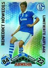 MATCH ATTAX 2010-2011 LIMITED EDITION Hanke Bailly Höwedes selection TOP MINT