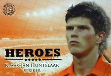 FUTERA SERIES 2010 - HEROES orange - INSERT CARDS Blue Foil - to choose