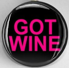 Handmade Interchangeable Magnetic Funny Wine Magnetic Inserts for Pendants