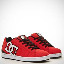 Scarpe Uomo Skate DC Shoes NET Athletic Red Rosso Schuhe Chaussures Zapatos