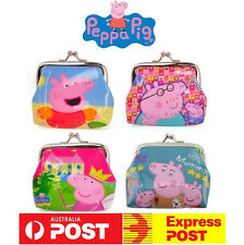 New Pig Cartoon George Wallet Girls Boys Coin Purse Kids Party Bag Gift Favor