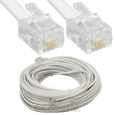 RJ11 Internet Broadband ADSL Phone US Modem Router Extension 2M 3M 15M 20M Cable