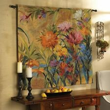 Martha Collins Wall Hanging Floral Tapestry