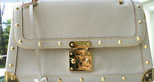 AUTHENTIC LOUIS VUITTON WHITE SUHALI TALENTUEUX SHOULDER BAG GENTLY USE