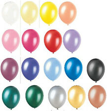 "PEARLISED HELIUM QUALITY LATEX BALLOONS 12"" WEDDING CHRISTENING BIRTHDAY PARTY"