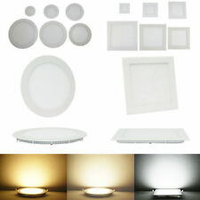 6W/9W/12W/15W/18W/21W Dimmable CREE LED Recesed Ceiling Panel Down Lights Lamp