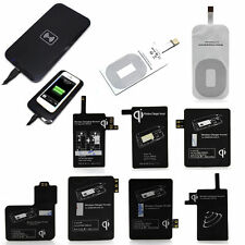 Qi Wireless Charger Charging Pad + Receiver Kit for iPhone 6 6+ 5 Samsung Galaxy