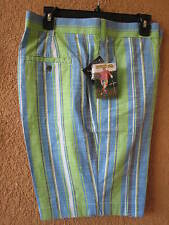 LOUDMOUTH MEN'S SIZE 34 NASSAU GOLF SHORTS (NWT)