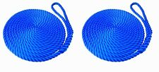 Royal Blue Mooring Ropes, Softline, Warps, Boat Lines, Yachts, Canal, 12mm-16mm