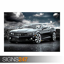 CHEVROLET CAMARO SS (0394) Car Poster -  Picture Poster Print Art A0 A1 A2 A3 A4