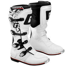 Gaerne Mens GX-1 White Motocross Dirt Bike Motorcycle Boots