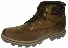 Caterpillar Goldfield WP Dark Brown Lace Up Work Boots Waterproof Leather