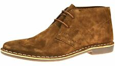 Red Tape Gobi Suede Mens Tan 267 Brown Lace Up Desert Boots Mens