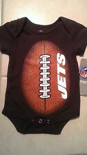 NEW YORK JETS INFANT BABY ONESIE CREEPER NFL FOOTBALL