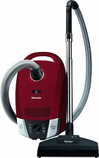 Cylinder Vacuum Cleaner,Bagged Miele Compact C2 Cat Dog Upholstery Red
