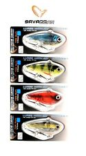 SAVAGE GEAR TPE SOFT FAT VIBES 66 BASS STRIPER MUSKY FISHING LURE SELECT COLOR