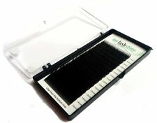 Individual Silk Eyelash Extensions B Curl Mixed Lash Tray 7-15mm .15/.2/.25