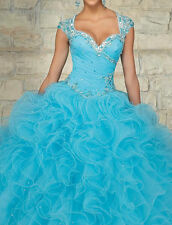Hot Popular Quinceanera Dress Prom Ball Gown Formal Dress Custom Made New Style