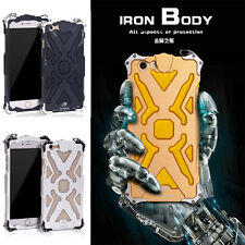 THOR Transformers Metal Aluminum Iron Man Case Cover For iPhone 6/6S & 6/6S Plus