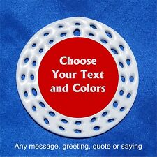 Any text or colors CUSTOM Personalized Porcelain Gift 3 Formats Your Choice